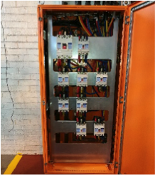 Power supply box for factory